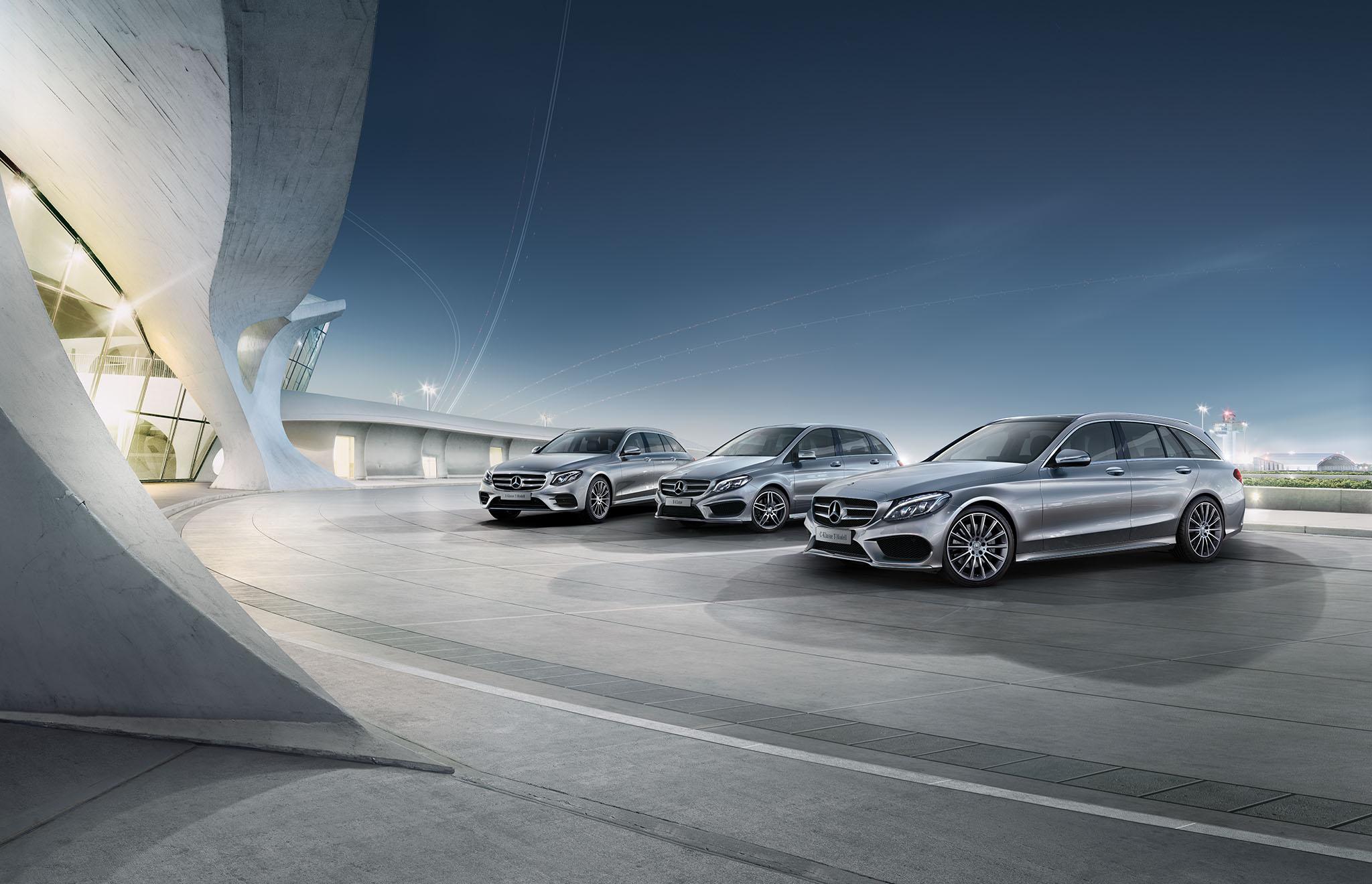 Mercedes Benz Flottensterne