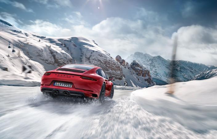 Porsche GTS Winter