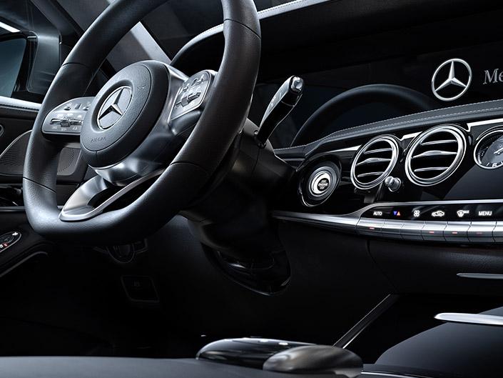Mercedes S Klasse by Niklas Blume