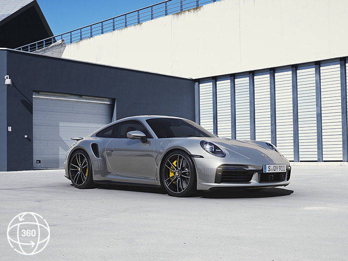 911 Turbo S Interaktiv Exterieur Tag