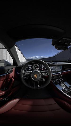 911 Turbo S Interaktiv Interieur Tag